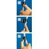 Gipron 797 Flicklock 2-delad 105-155 cm, lærkrysstrinse
